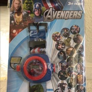 The avengers projection watch